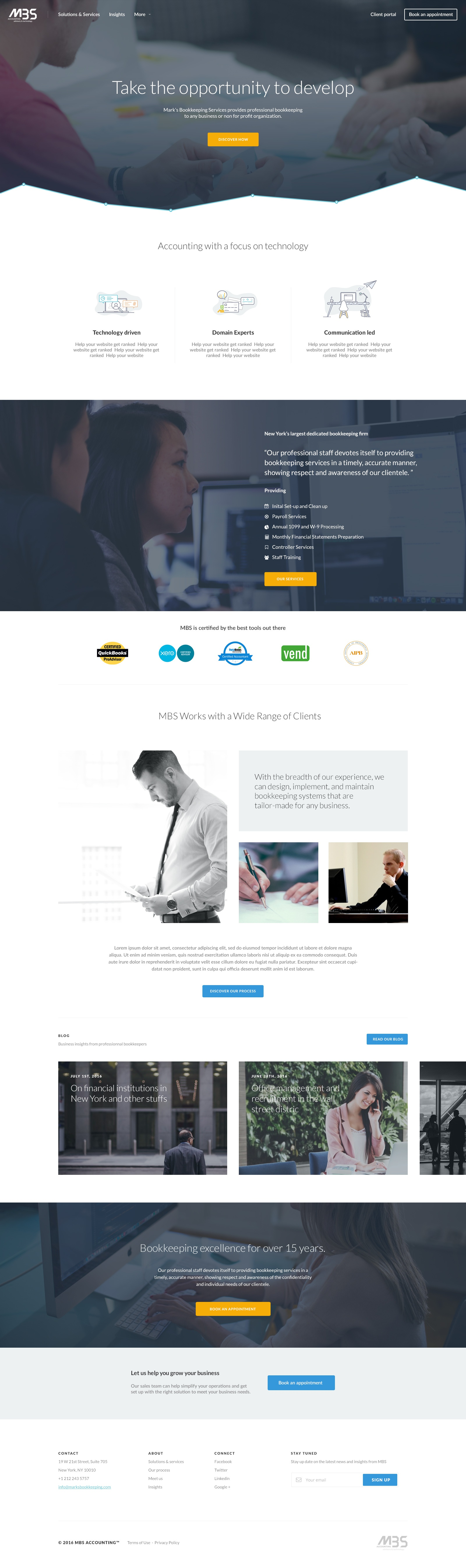 Mbs homepage