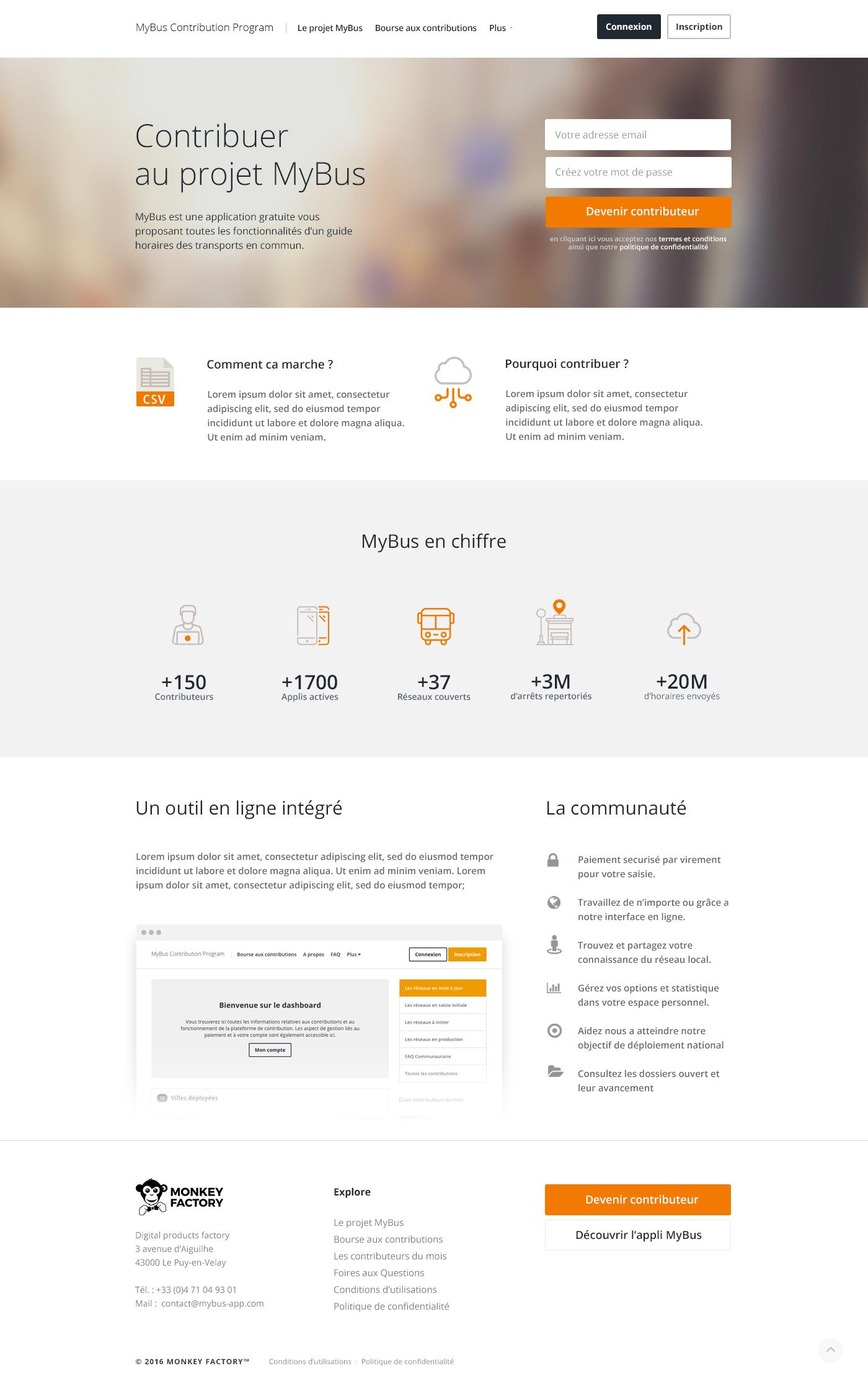 Mybus contrib homepage