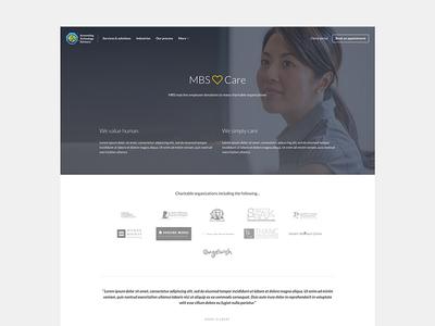 Care program page