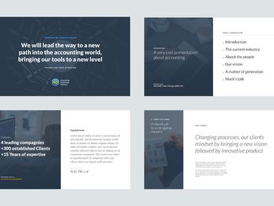 Slides Templates lato blue presentation slides
