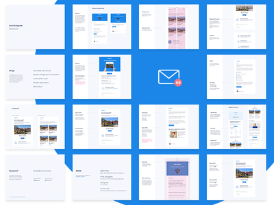 Email Styleguide template iteration iterable marketing