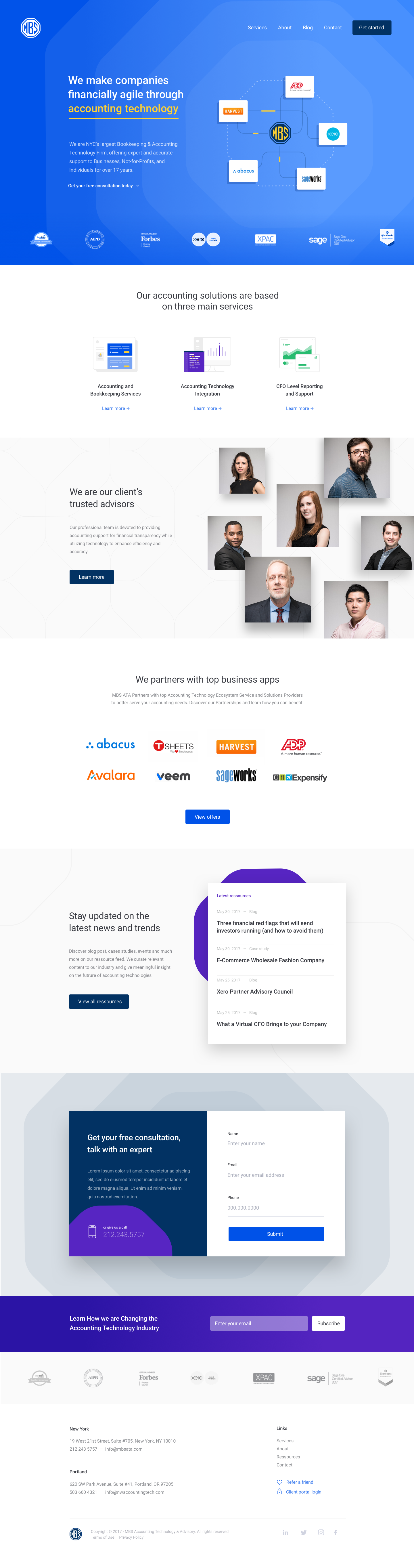 Homepage redesign mockup v2