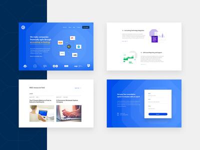 Web design iteration software tech minimal ripple startup flat icon accounting web