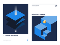 Design system abstract posters