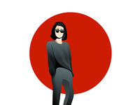 Clothing brand illustrations