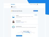 Inbox-style dashboard
