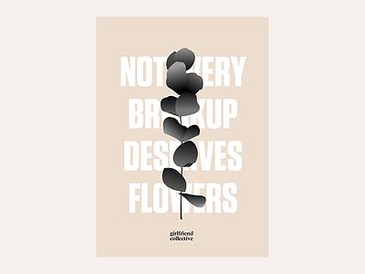 Poster thing minimal tungsten eucalyptus branch tone beige