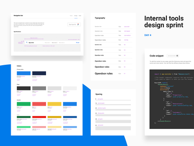 Design sprint – Day 4 design system opendoor ops backend tools frontemd sprint system figma design
