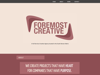 Foremost Creative website