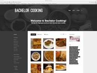 Bachelor Cooking Website
