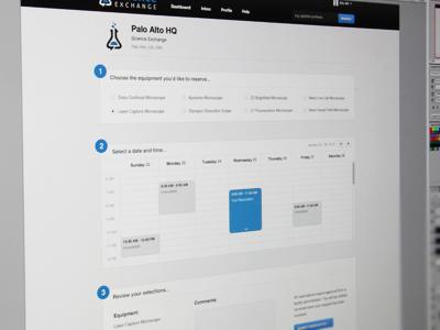 Scheduling schedule ui ux calender web minimal design steps