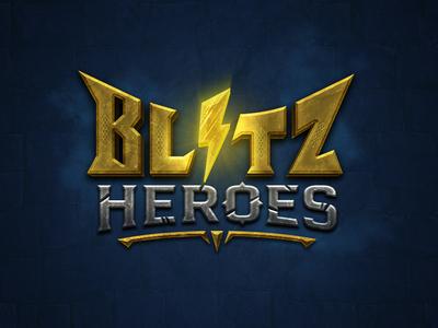Blitz Heroes mobile game logo