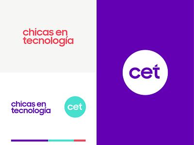 CET design logo
