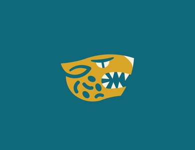 Jaguar Illustration tiger panther lion roar animal mascotlogo mascot sports football nfl jag jaguar animal logo branding brand design vector logo illustration icon