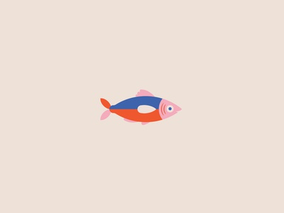 Minnow design animal vector bait minnow fishing fish animal icon fun cute illustrations animal illustration logo animal logo illustration icon