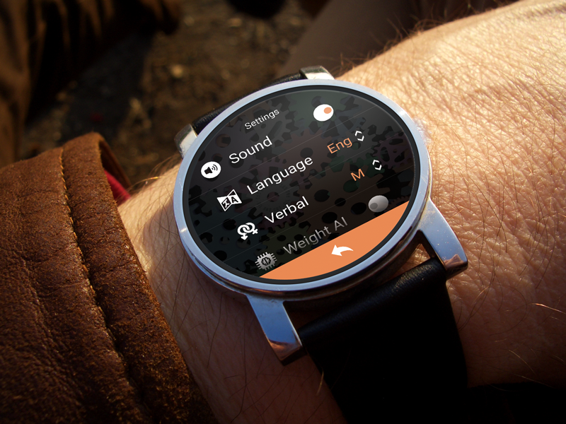 Settings | Android Wear android watch moto 360 smart watch settings wearable watch android