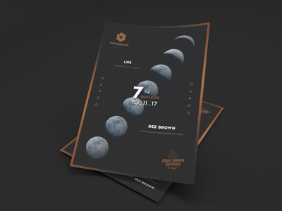 7years poster print dark movement moon event night