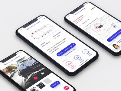 Insurance concept app health auto customer story user insurance