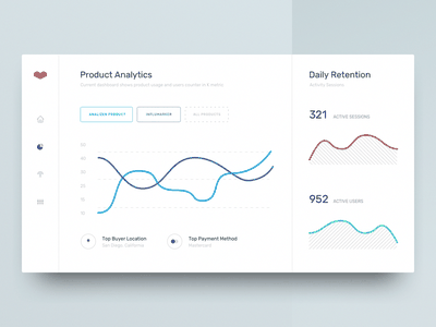 Light Version – Analytics Dashboard Concept Design analytics chart e-learning alarm exchange design cryptocurrency bitcoin interface decentralized platform informational graphic blockchain clean interaction app design product web business mobile dashboard