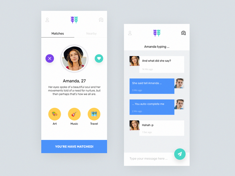 Mobile Application to Find People by Interests