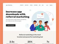 GetSocial Website & Application Design