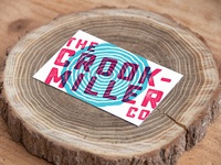 Crook Miller Business Card