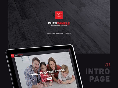 KAT SIMPLE - EUROPANELE Website redesign 2 store shop apartment flooring floor