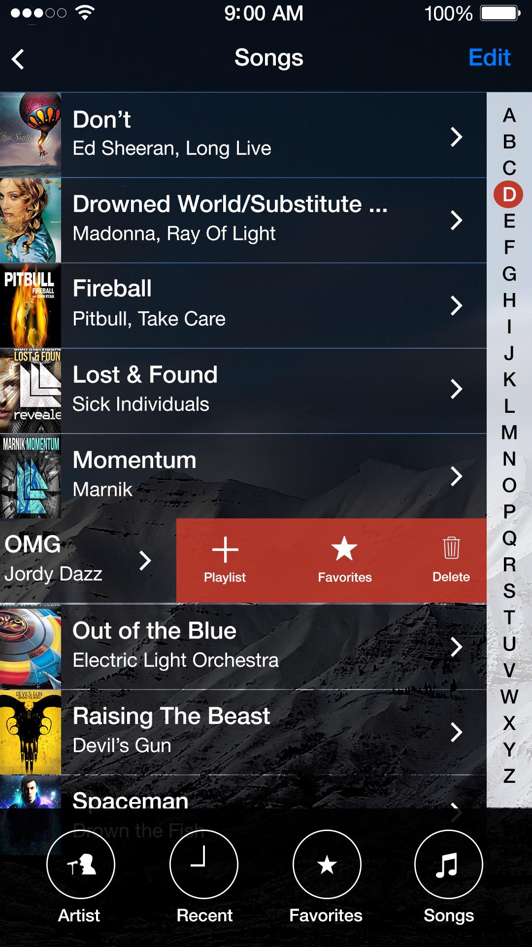 05.2 songs ios music app