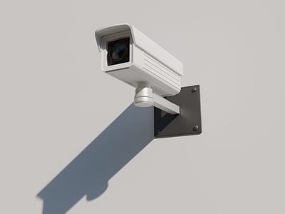 I watching you! 3d illustrator 3d render hdri security render cycles render security cam 3d model blender3d