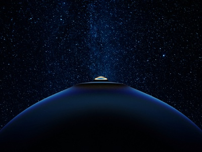 #NFT4 Boobs Planet animation caustic refraction blender sale bid opensea nft globe planet boobs