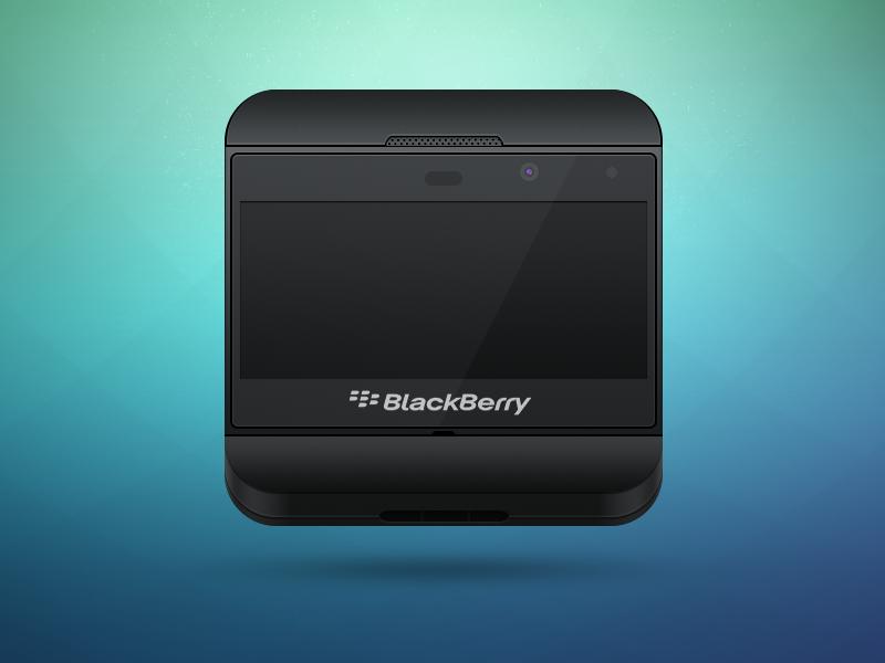 Blackberry Z10 Icon blackberry z10 icon device gadget phone smartphone