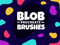 Blob Brushes for Procreate