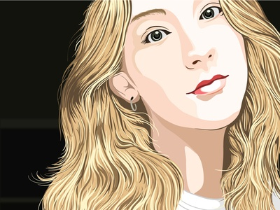 Vector illustration Elle Nowinsky