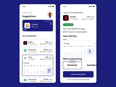 Subscription App ios app design application app design uidesign ui  ux concept sketch subscription design designer apple design ios ux app ui