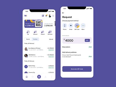 Finance Mobile App hire me finances mobile ui mobile app design app design mobile app ux ui mobile fintech banking financial app mobile bank money finance