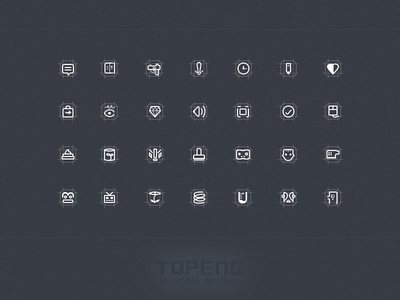 Some strange 36px icon outline icon