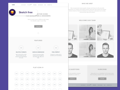 Iconshop: free Sketch wireframes ux design freebies iconshop website free sketch wireframes