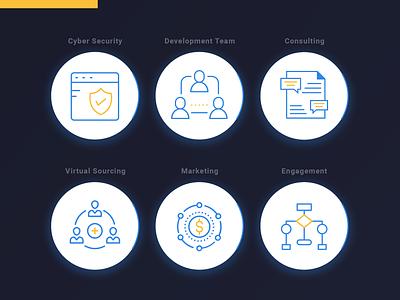 Startup icons 🚀 startup startup marketing icon