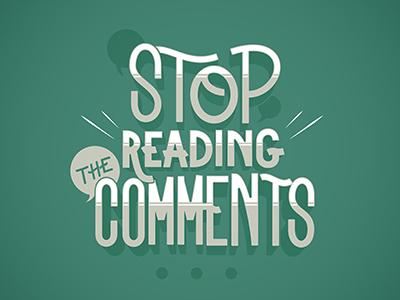 Comments vector comments lettering