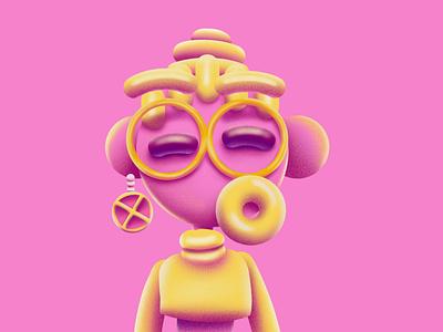 Pynk Lemonade depth 3d hank fuzzy texture pinklemonade drink lemonade pink