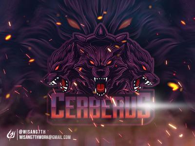 Mascot Logo Cerberus