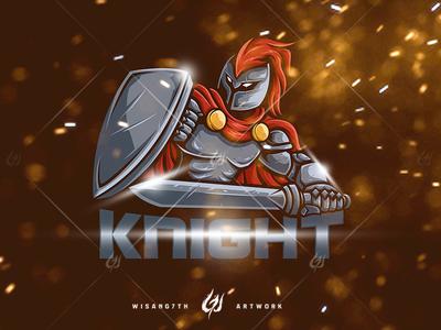 Mascot Logo Knight