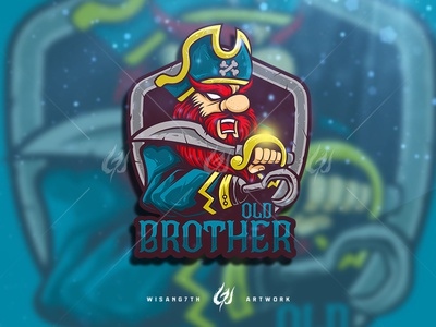 Mascot Logo Old Brother