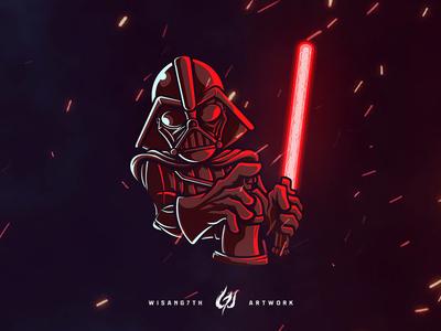 Mascot Logo Graff Vader