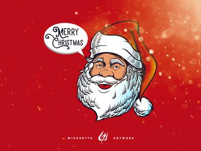 Santa Claus Said Merry Christmas