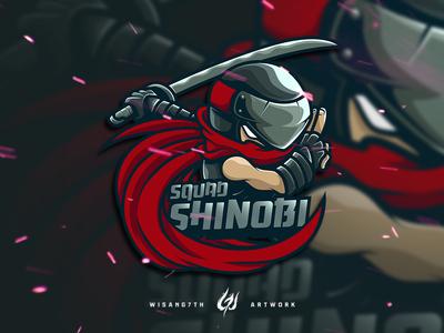 Mascot Logo Shinobi