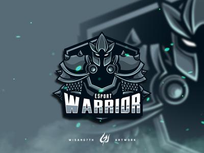 Mascot Logo Esport Warrior