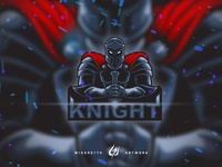 Mascot Logo Team Knight