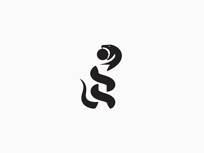Letter i + snake Logo branding negativespace negative snake i krivenko letter monogram logotype логотип jkdesign jkd logo