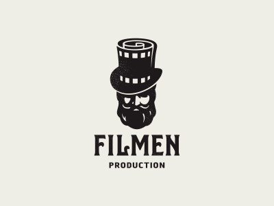 FilMen logotype logo video movie hate beard men film